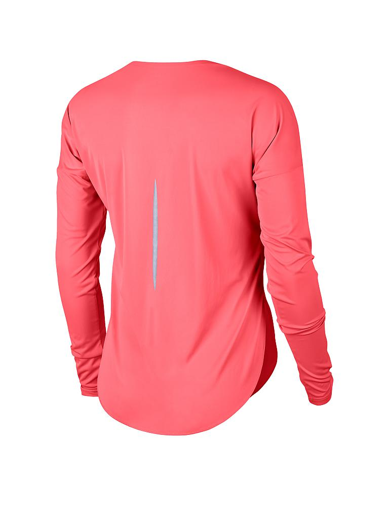 NIKE | Damen Laufshirt City Sleek | rot