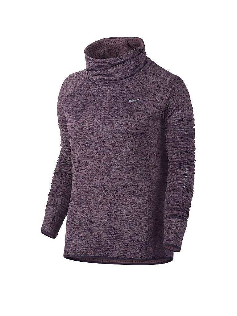 NIKE | Damen Laufshirt Therma Sphere Element | lila