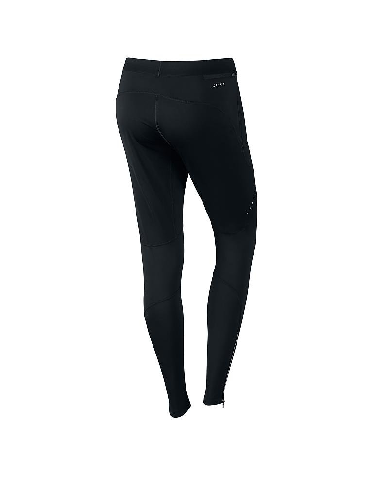 NIKE | Damen Lauftight Shield | schwarz