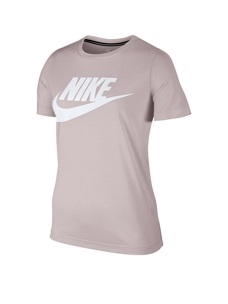 nike damen t shirt essential sportswear rosa xs. Black Bedroom Furniture Sets. Home Design Ideas