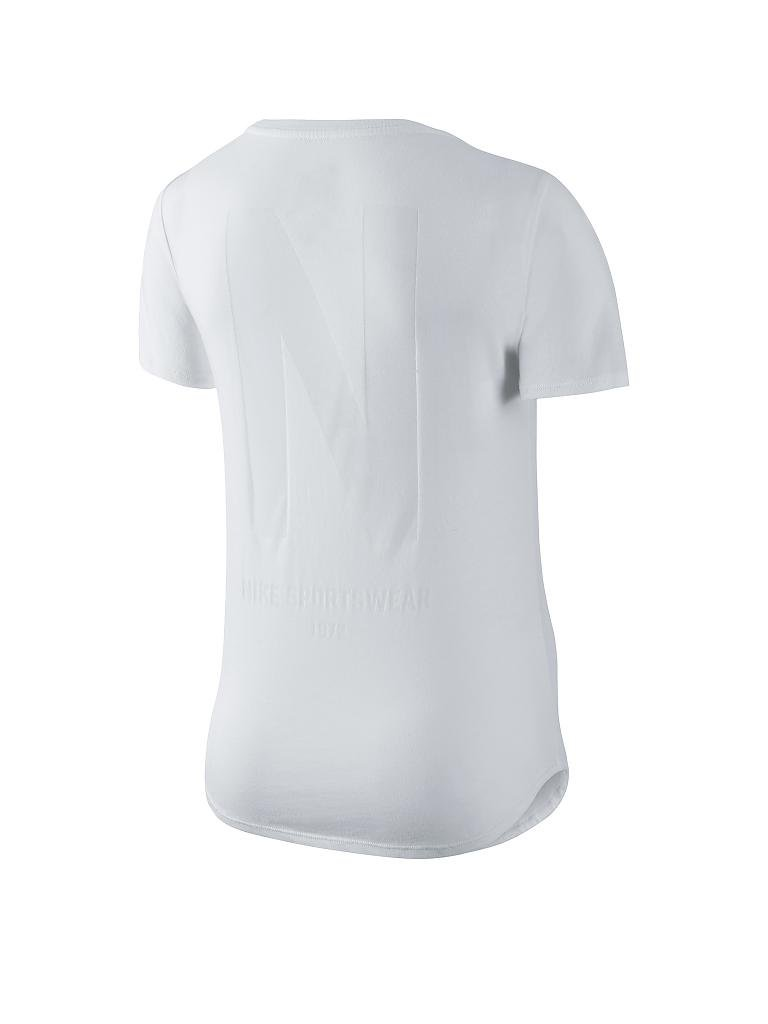 NIKE | Damen T-Shirt N Scoop | weiß