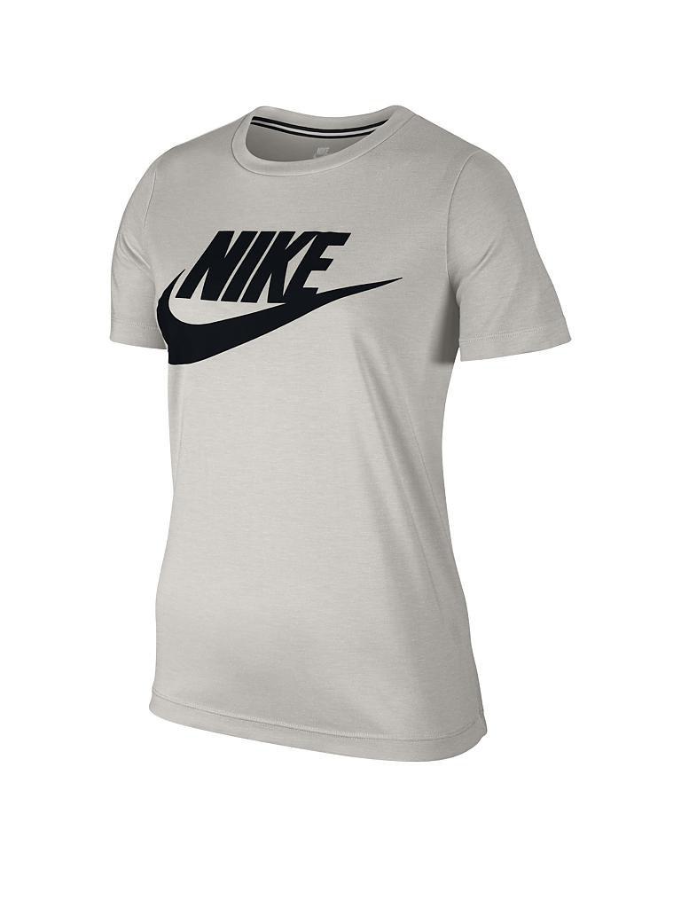 nike damen t shirt sportswear essential beige xs. Black Bedroom Furniture Sets. Home Design Ideas