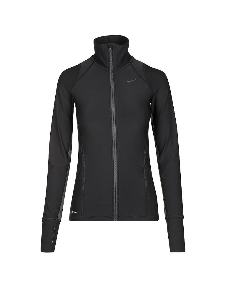 nike damen trainings jacke legend schwarz xs. Black Bedroom Furniture Sets. Home Design Ideas