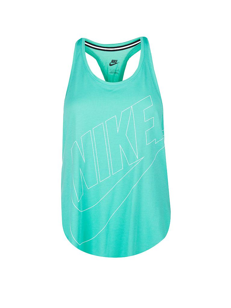 NIKE | Damen Trainings-Tanktop | grün