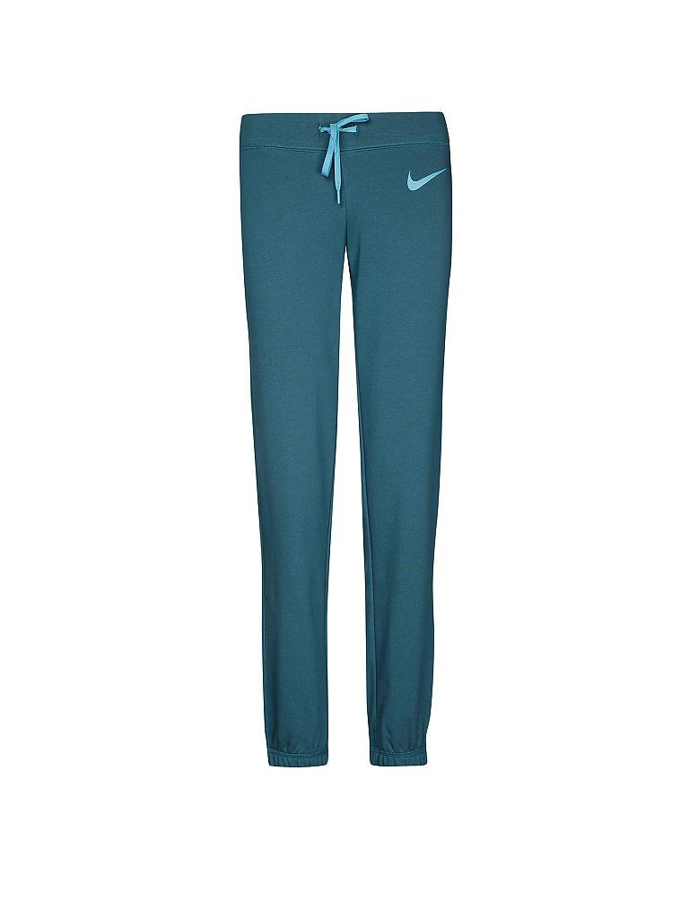 NIKE | Damen Trainingsanzug Club | petrol