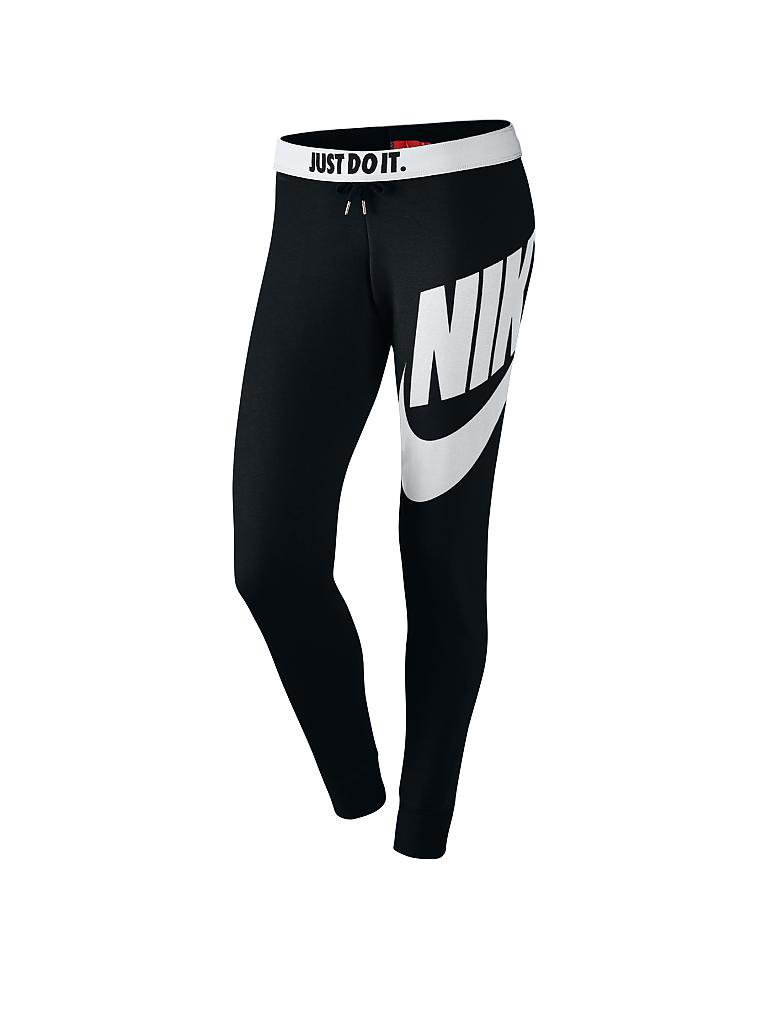 NIKE | Damen Trainingshose Rally-Tight | schwarz