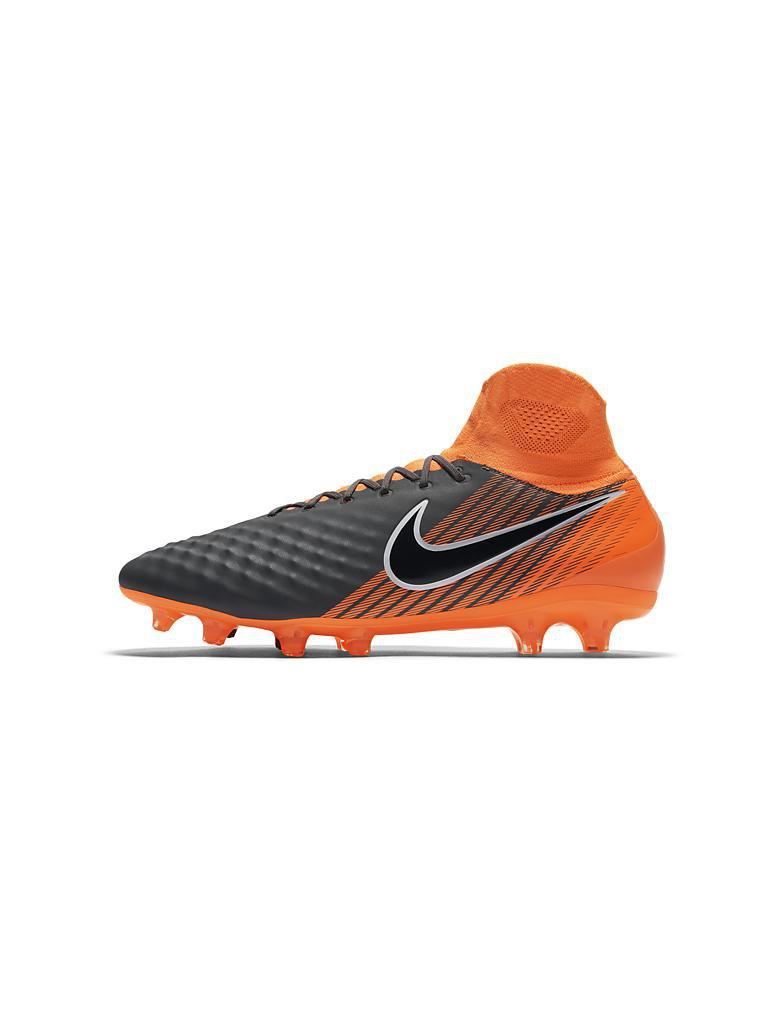new style acda3 36fdb NIKE Fußballschuh Nocken Magista Obra II Pro Dynamic Fit FG grau | 41