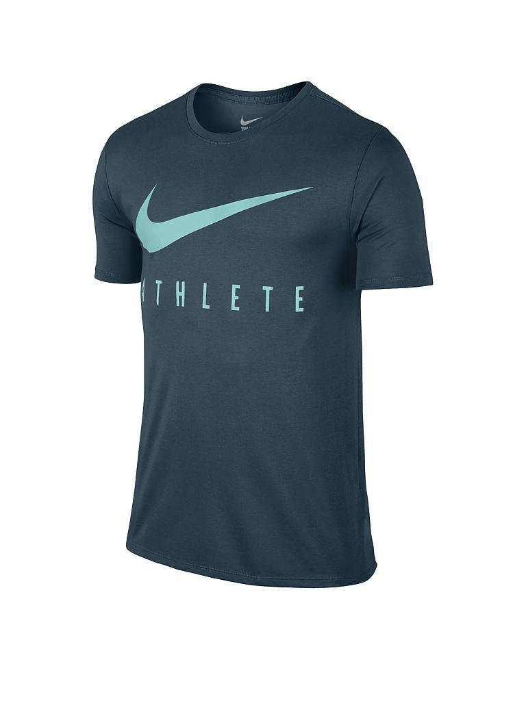 Nike herren fitness t shirt dri fit petrol s for Dri fit t shirts nike