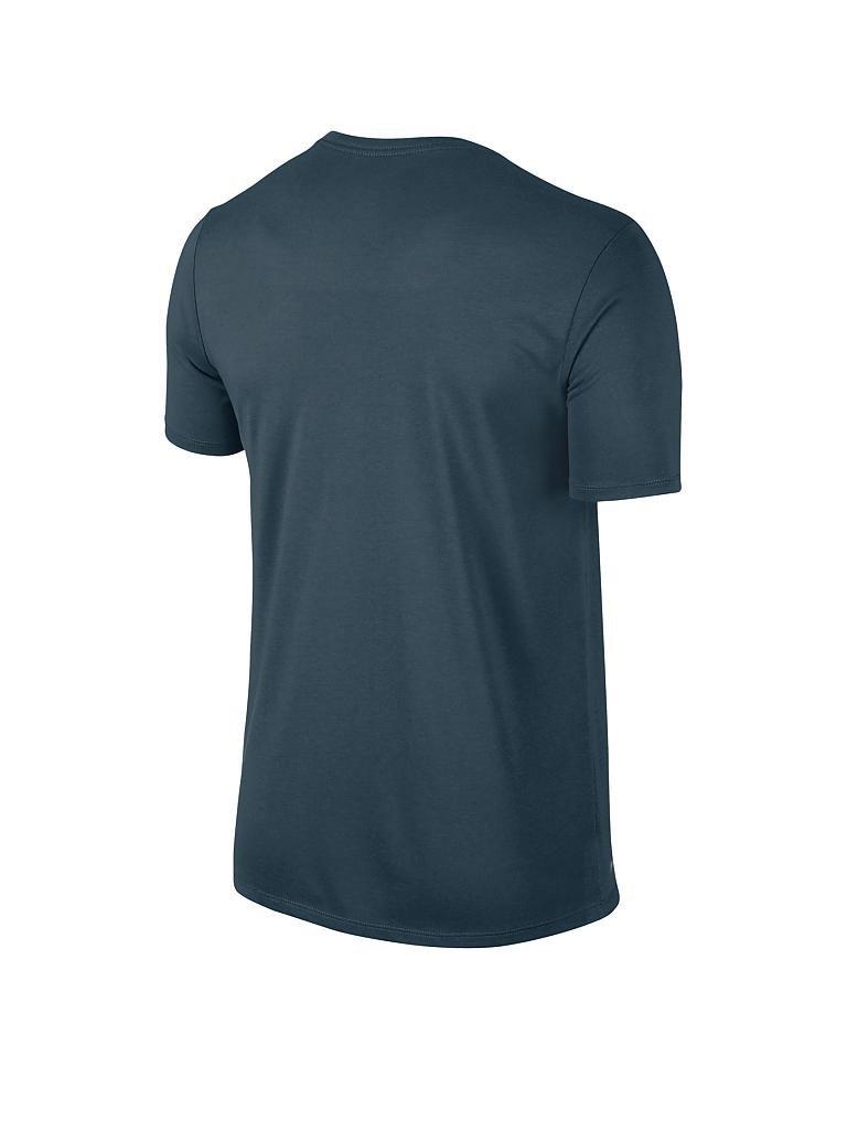 nike herren fitness t shirt dri fit petrol s. Black Bedroom Furniture Sets. Home Design Ideas
