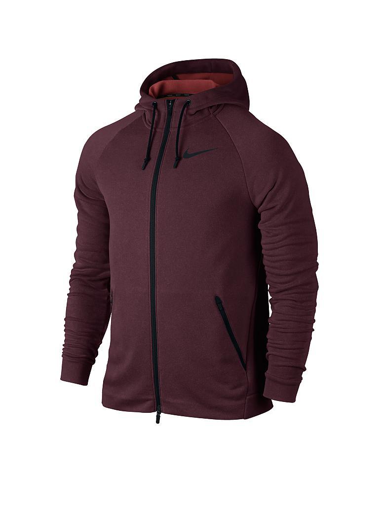 new style 2dd83 54e76 NIKE  Herren Fitness-Jacke Dry Training  rot