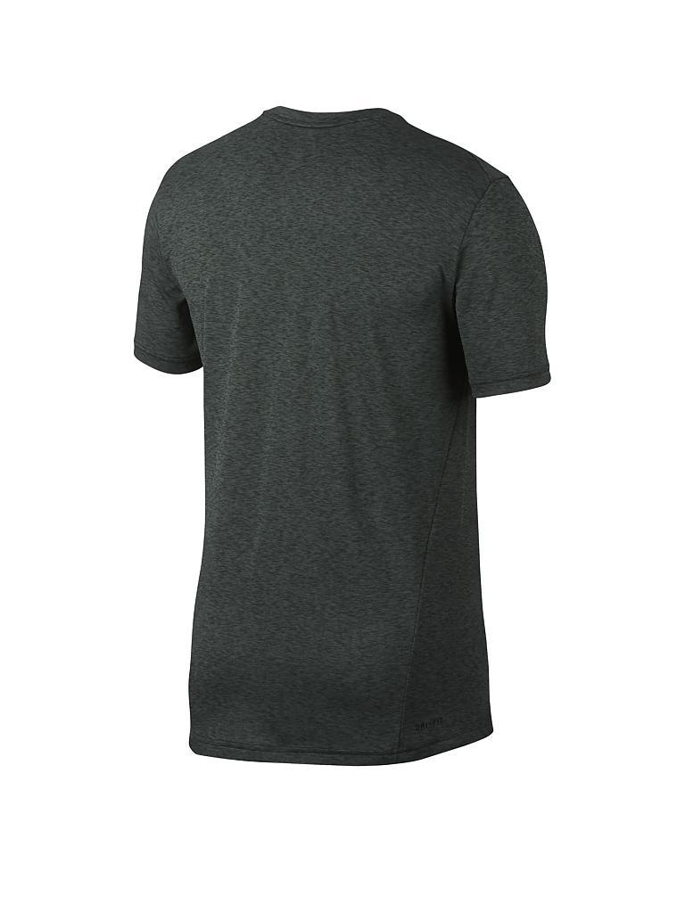 nike herren fitness shirt breathe olive s. Black Bedroom Furniture Sets. Home Design Ideas