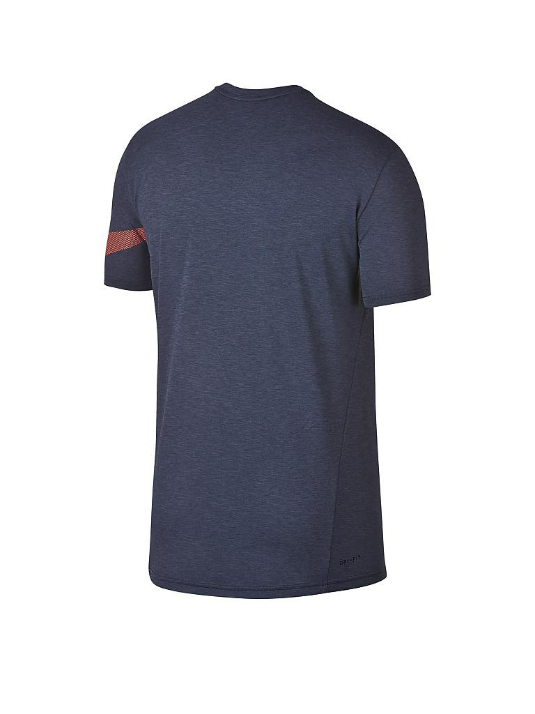 nike herren fitness shirt breathe grau s. Black Bedroom Furniture Sets. Home Design Ideas