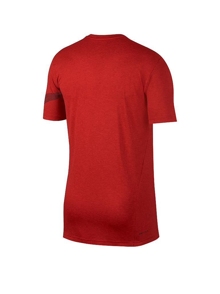 nike herren fitness shirt breathe rot s. Black Bedroom Furniture Sets. Home Design Ideas