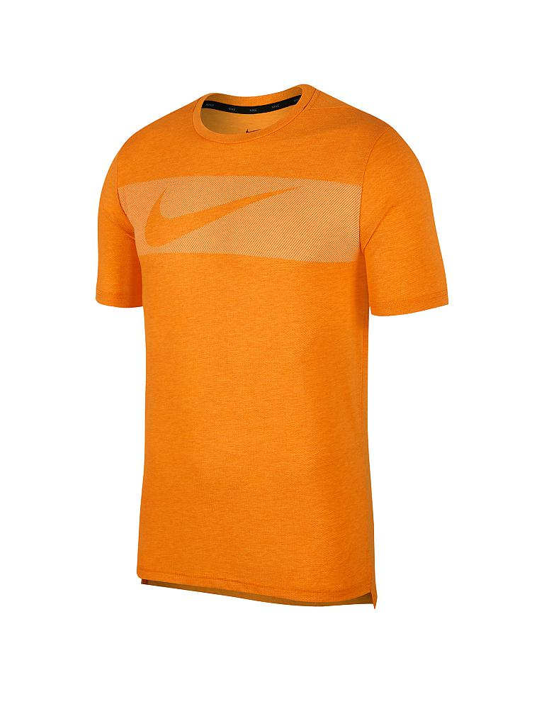 NIKE | Herren Fitness-Shirt Dri-FIT Breathe Graphic | orange