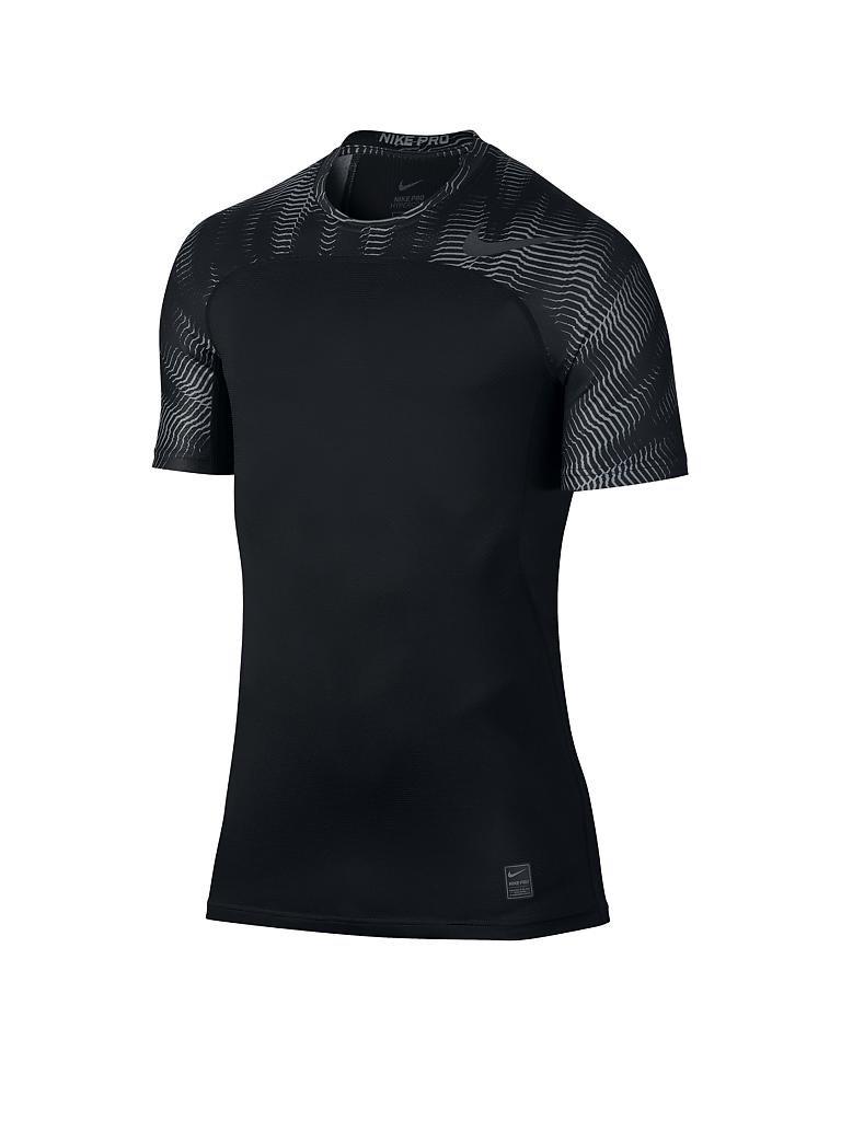 nike herren fitness shirt hypercool schwarz s. Black Bedroom Furniture Sets. Home Design Ideas