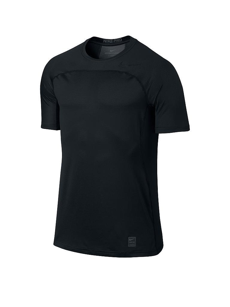 nike herren fitness shirt pro hypercool schwarz s. Black Bedroom Furniture Sets. Home Design Ideas