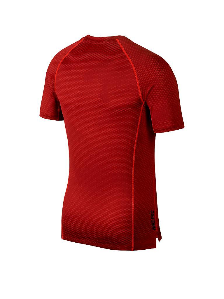nike herren fitness shirt pro hypercool rot s. Black Bedroom Furniture Sets. Home Design Ideas