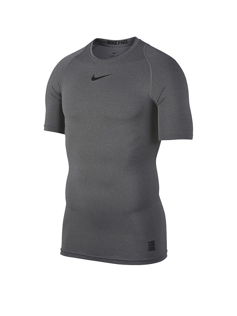 nike herren fitness shirt pro grau s. Black Bedroom Furniture Sets. Home Design Ideas