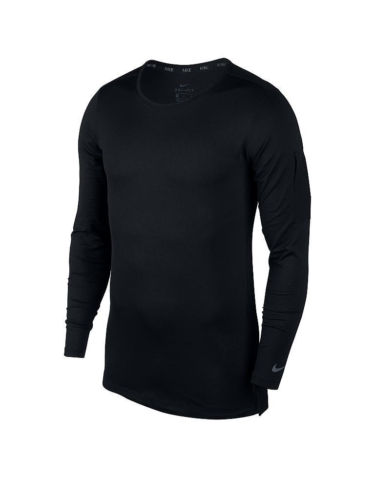 nike herren fitness shirt utility schwarz s. Black Bedroom Furniture Sets. Home Design Ideas
