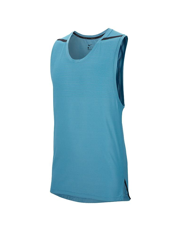 NIKE | Herren Fitness-Tanktop Dri-FIT Tech Pack | blau