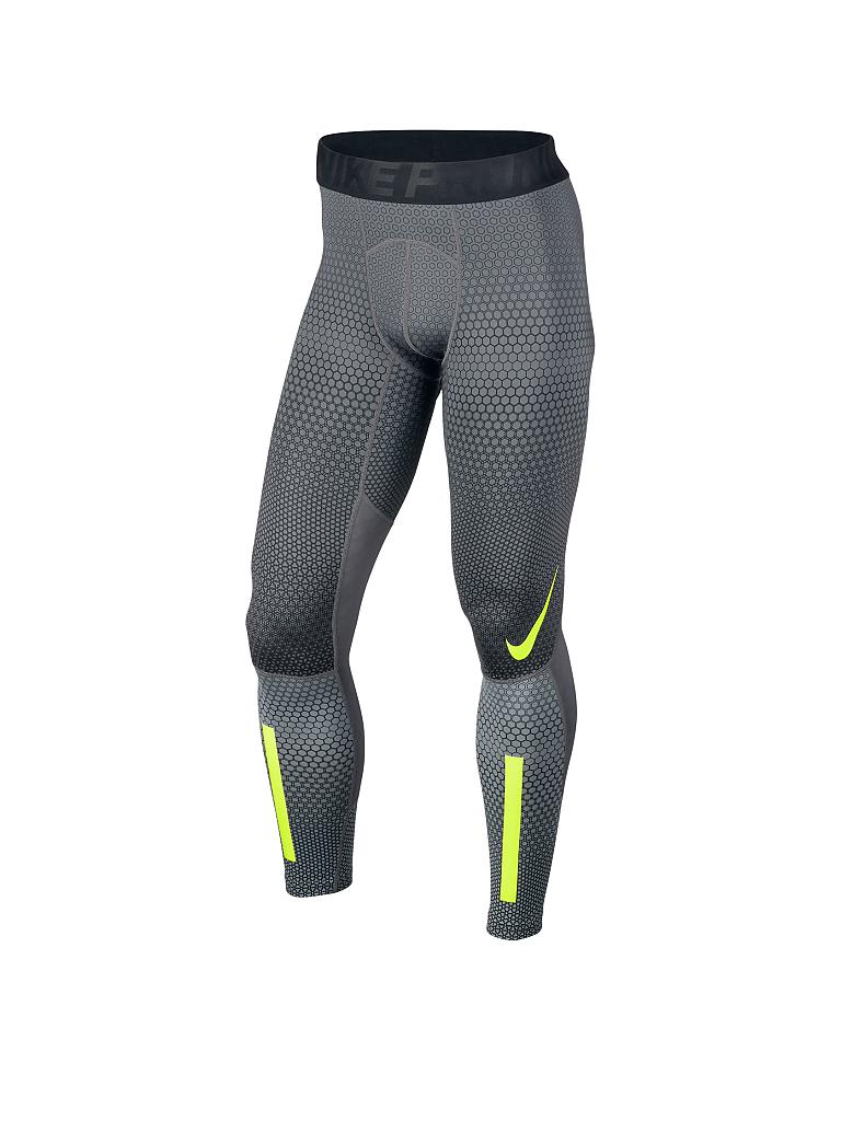 NIKE | Herren Fitness-Tight Hyperwarm Hexodrome | grau