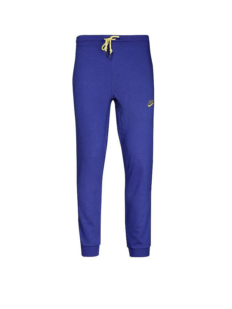 nike herren jogginghose aw77 blau xl. Black Bedroom Furniture Sets. Home Design Ideas