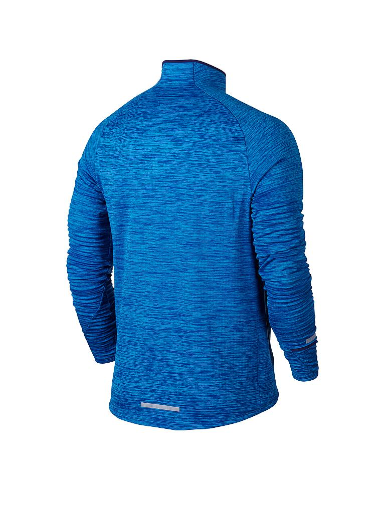 NIKE | Herren Laufshirt Element Sphere HZ | blau