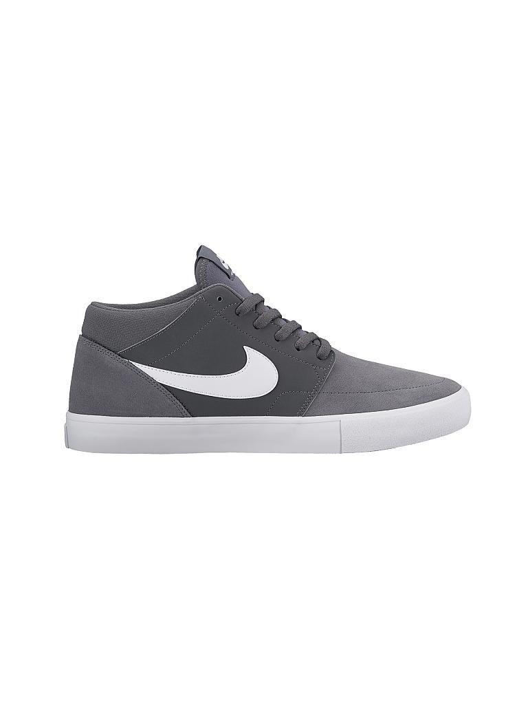low priced e4d01 c03cf NIKE Herren Skateboardschuh Nike SB Solarsoft Portmore II Mid grau   41