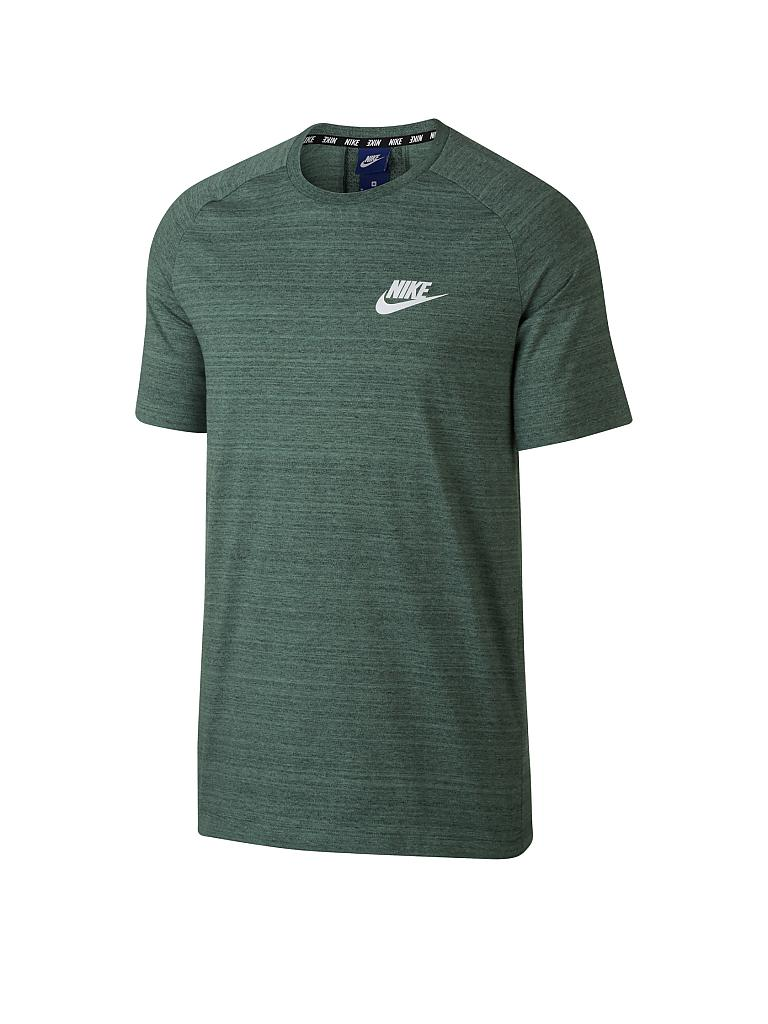 official photos 8d08d c0381 NIKE Herren T-Shirt AV15 Knit grün  S