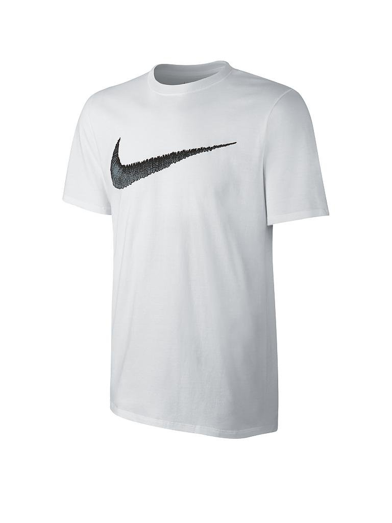 37780f7e717 NIKE | Herren T-Shirt Hangtag Swoosh | weiß