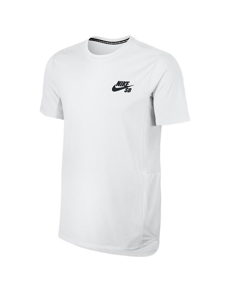 1a1663fa2cdaae NIKE Herren T-Shirt Nike SB Skyline Cool weiß