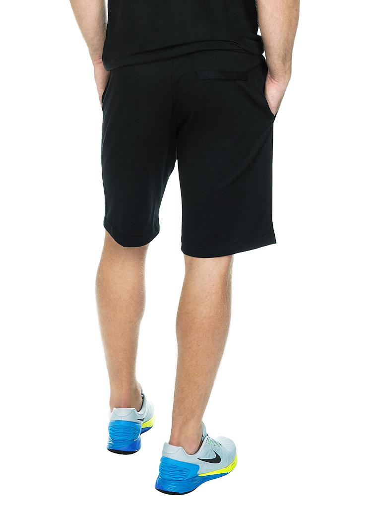 NIKE | Herren Trainings-Shorts | schwarz
