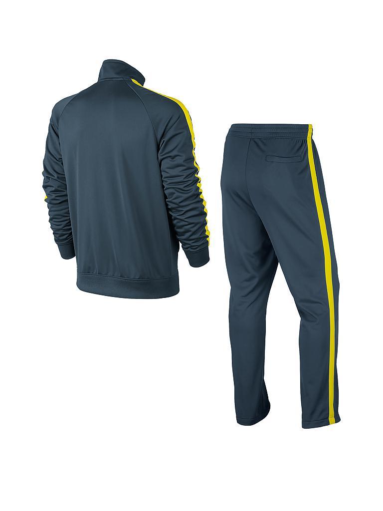 nike herren trainingsanzug sportswear blau s. Black Bedroom Furniture Sets. Home Design Ideas