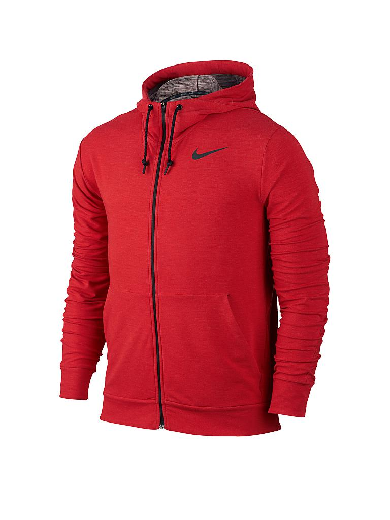 nike herren trainingsjacke dri fit rot s. Black Bedroom Furniture Sets. Home Design Ideas