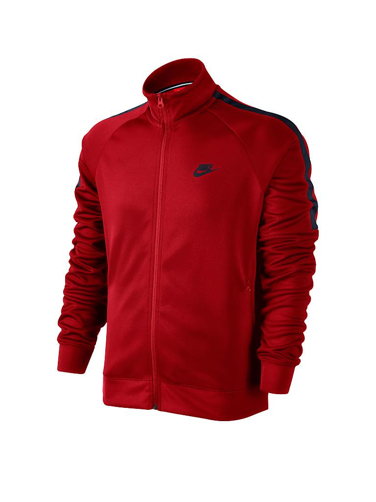 nike herren trainingsjacke rot s. Black Bedroom Furniture Sets. Home Design Ideas