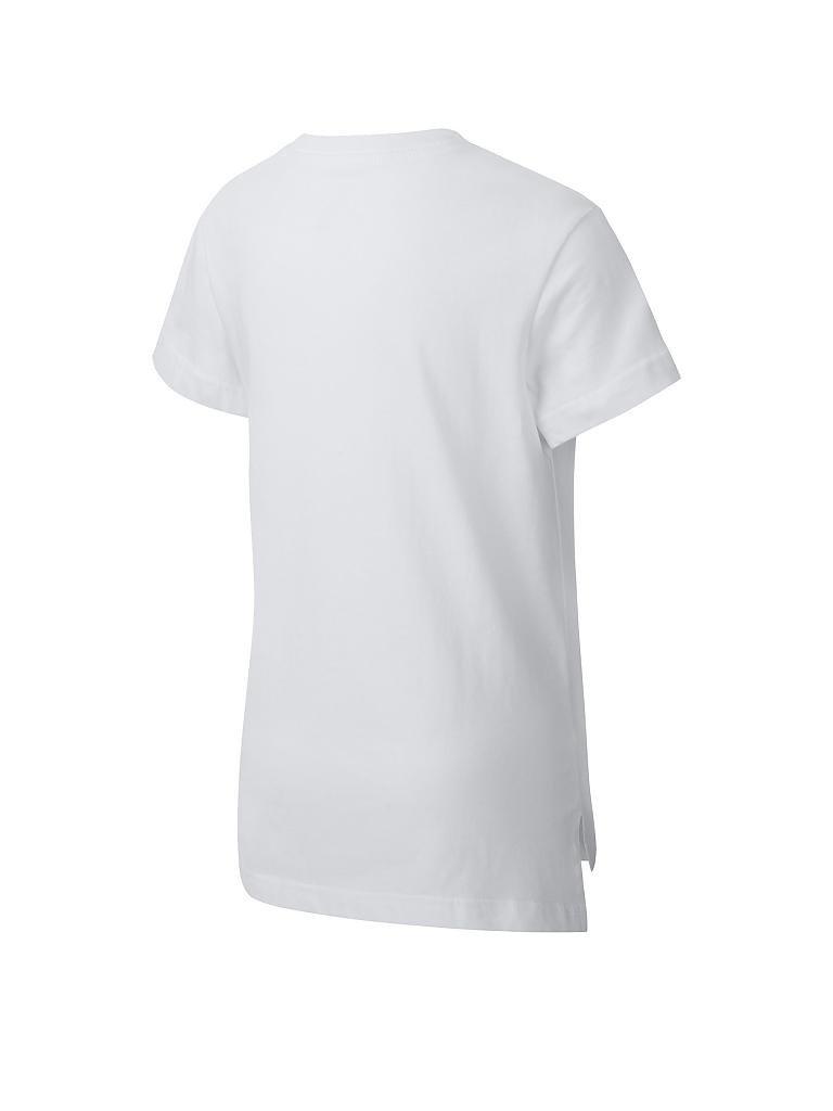 NIKE Mädchen T-Shirt Nike Sportswear weiß | 116-128