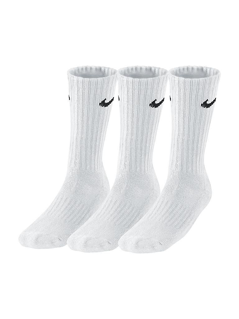 NIKE | Sportsocken Cotton Cushion Crew 3er | weiß