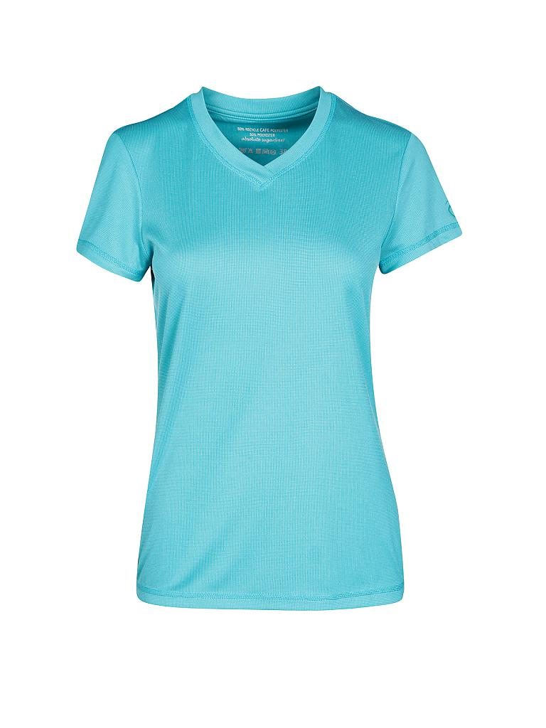 NORTHLAND | Damen Funktionsshirt Rea Cafe Base | türkis