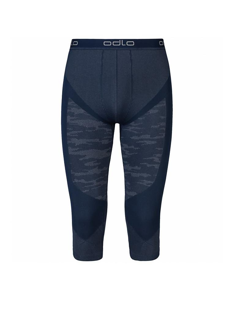 ODLO | Herren 3/4 Tights Blackcomb Evolution Warm | blau