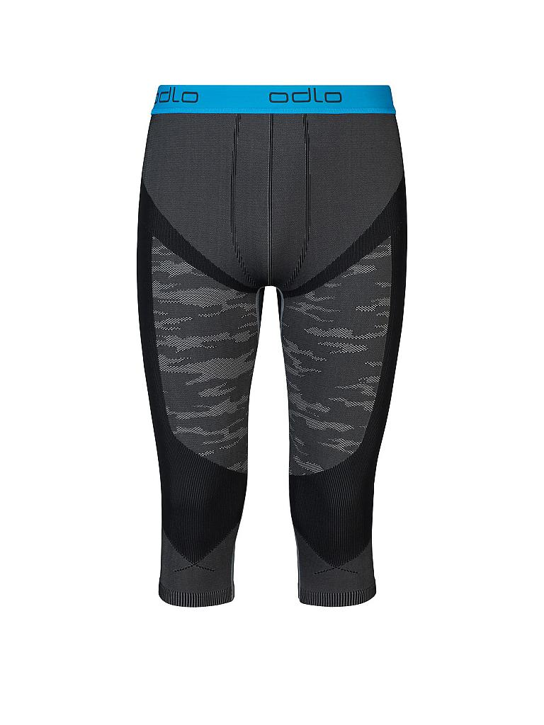 ODLO | Herren 3/4 Tights Blackcomb Evolution Warm | grau