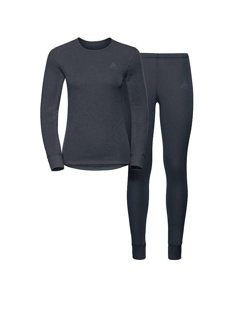 ODLO | Herren Funktionsunterwäsche-Set Active Originals Warm | blau