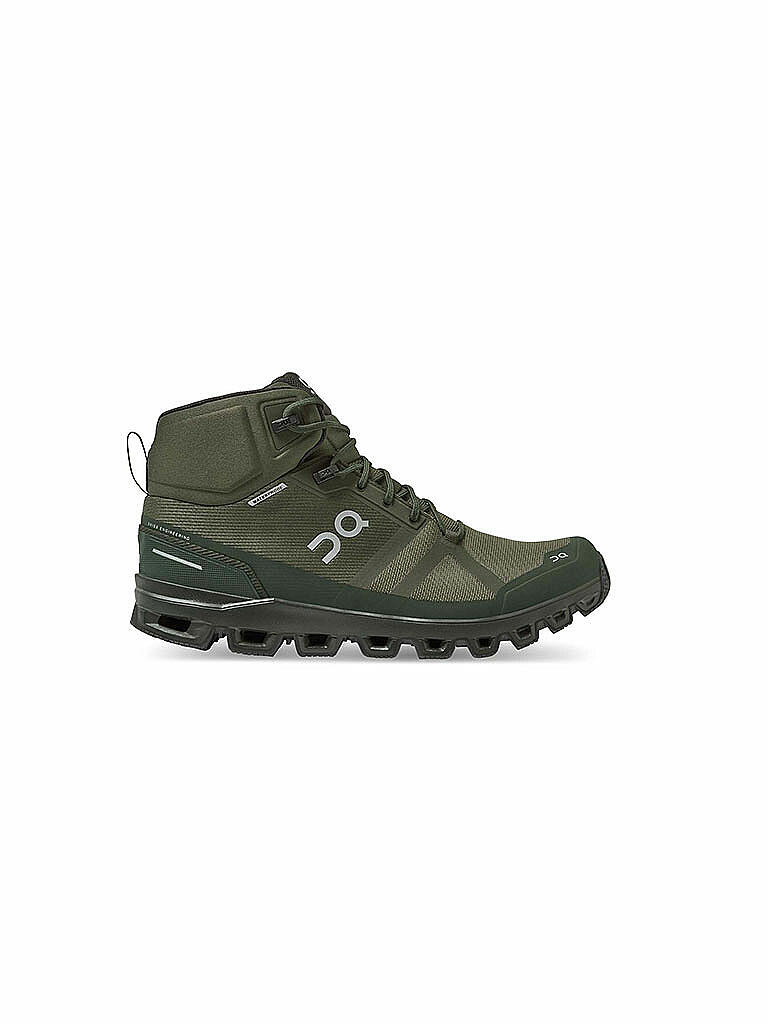 ON | Herren Wanderschuhe Cloudrock Waterproof Jungle Fir | olive
