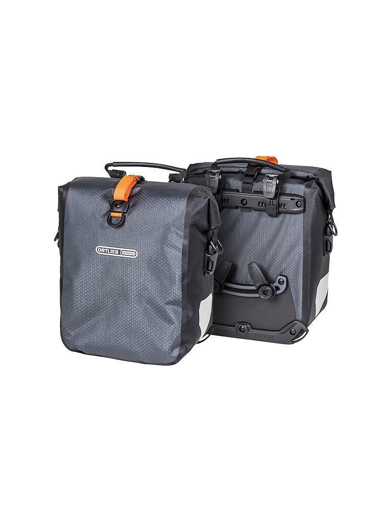 ortlieb fahrrad packtasche gravel pack duo grau. Black Bedroom Furniture Sets. Home Design Ideas