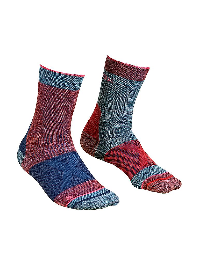 ORTOVOX | Damen Outdoorsocken Alpinist Mid | blau