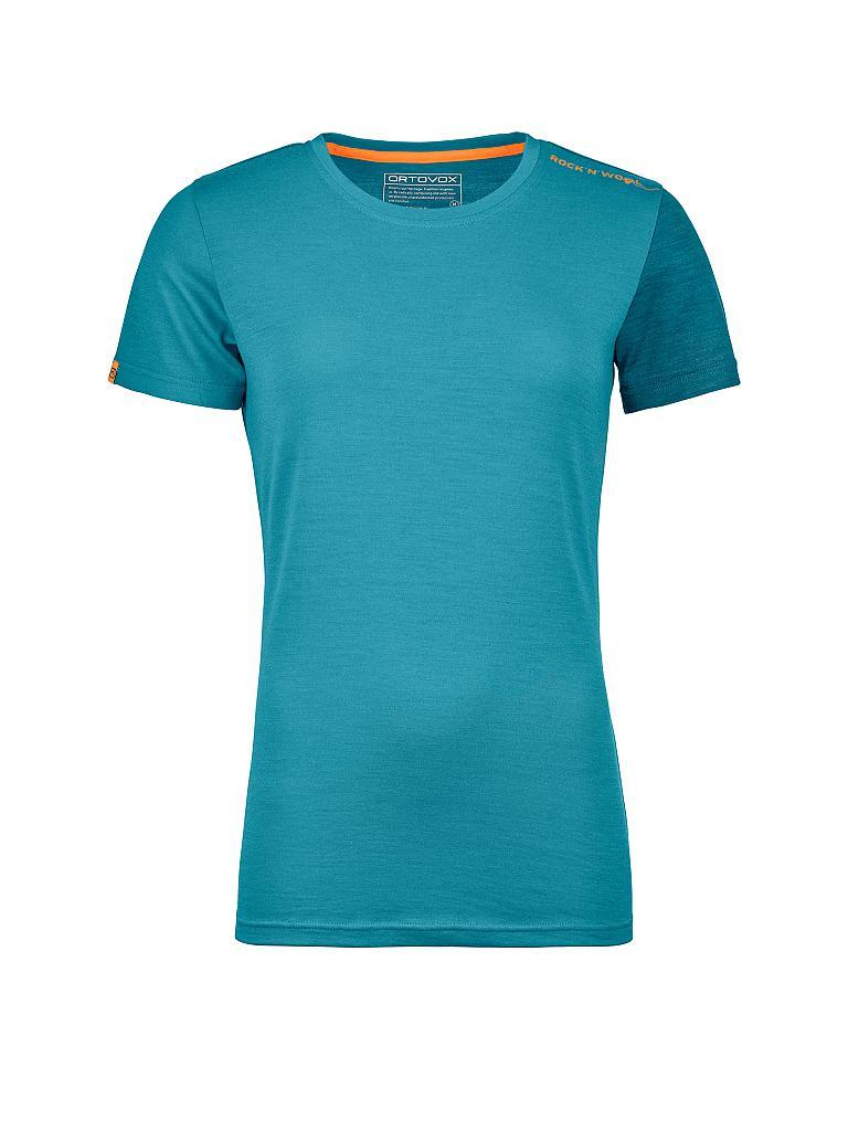 ortovox damen shirt rock 39 n 39 wool 185 t rkis s. Black Bedroom Furniture Sets. Home Design Ideas