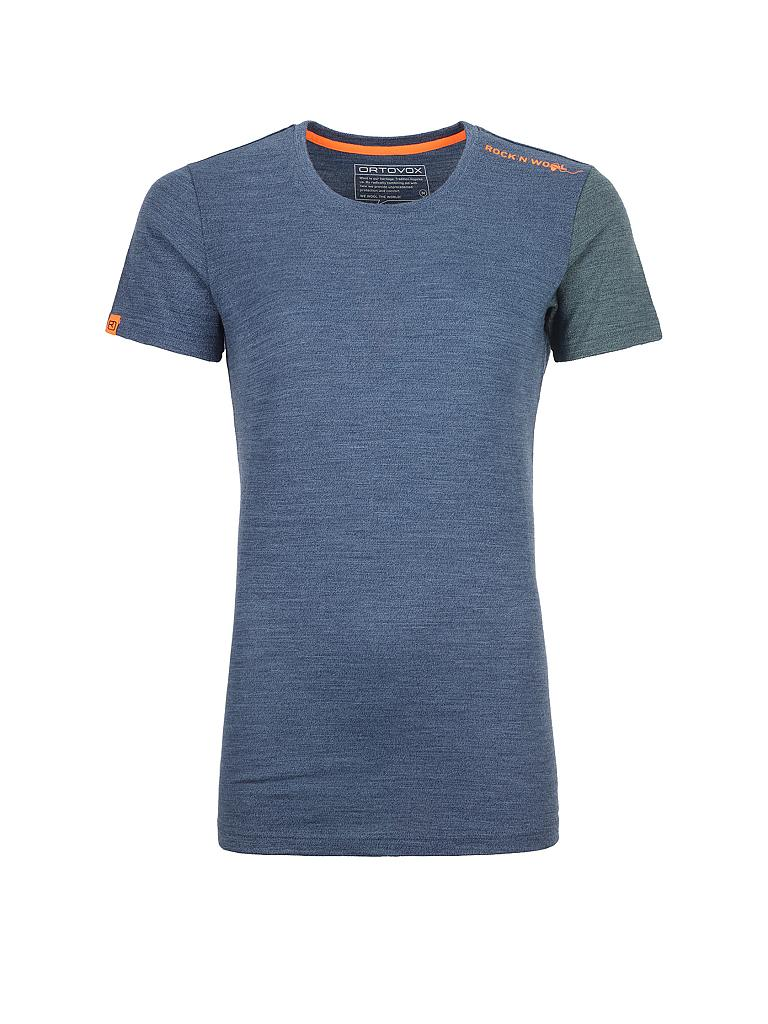 ORTOVOX | Damen Shirt Rock'n'Wool 185 | blau