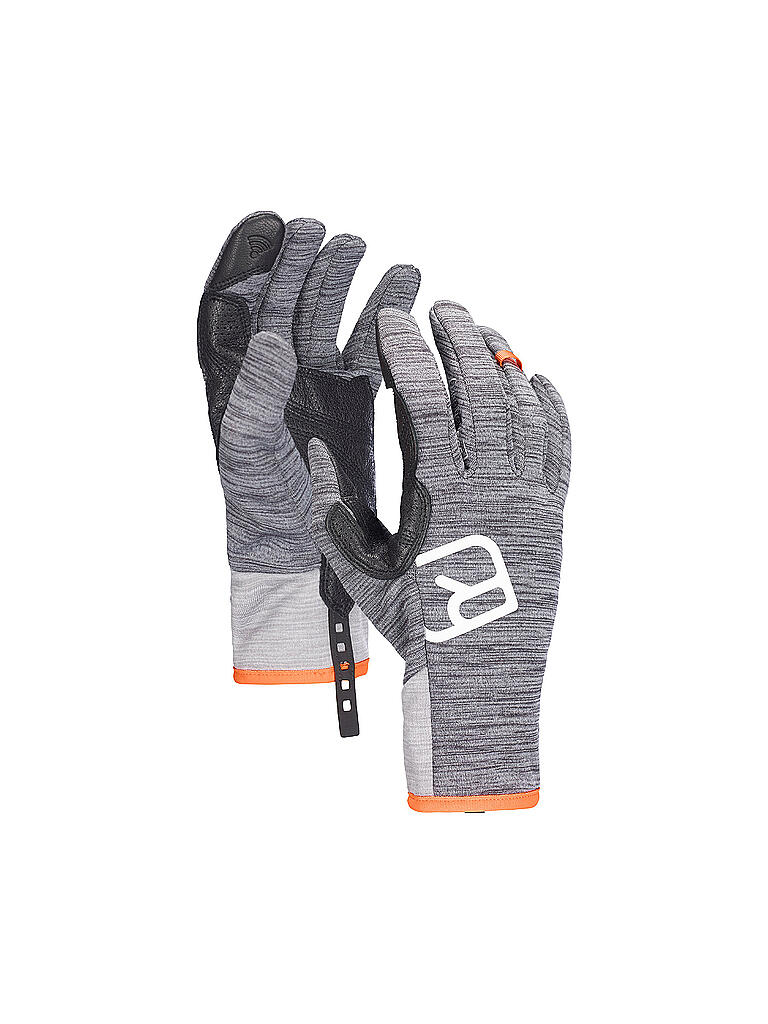 ORTOVOX | Herren Handschuhe Fleece Light | grau
