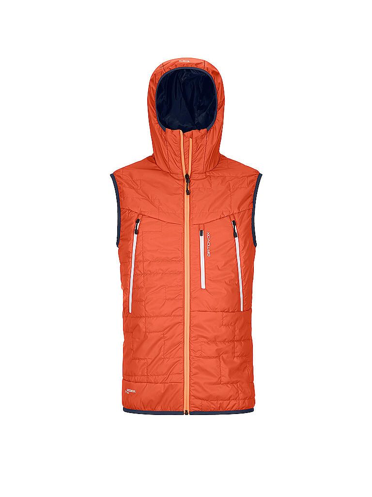 ORTOVOX | Herren Isolationsweste SWISSWOOL PIZ BOÈ  | orange