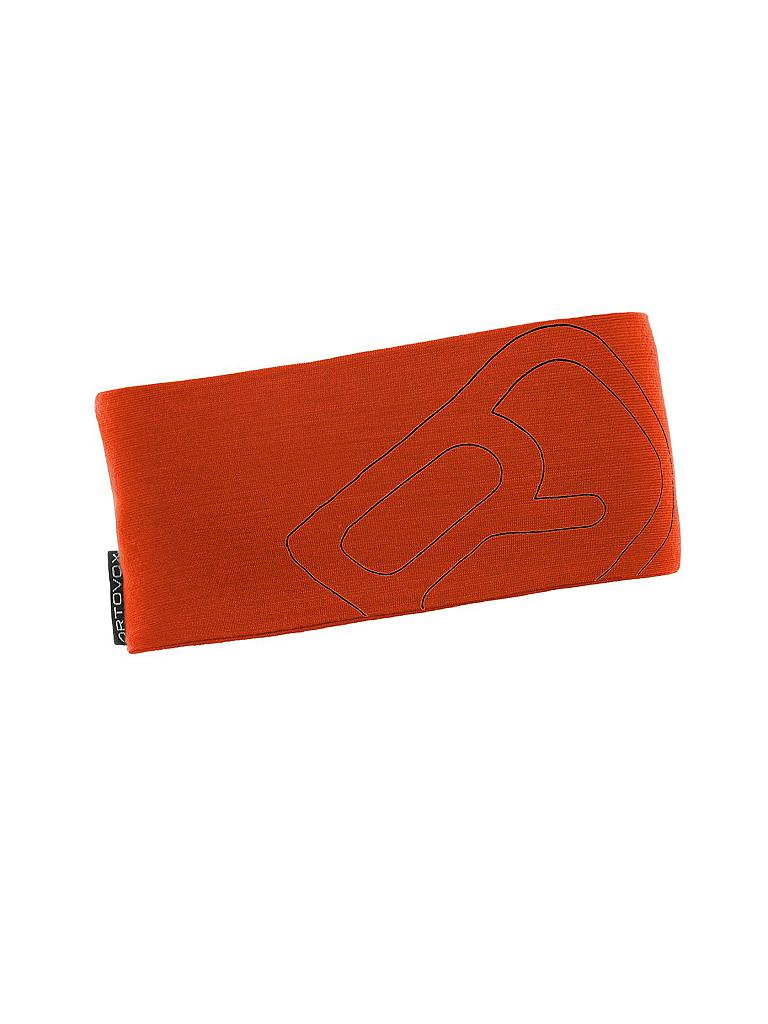ORTOVOX | Stirnband Merino Cool Logo | orange