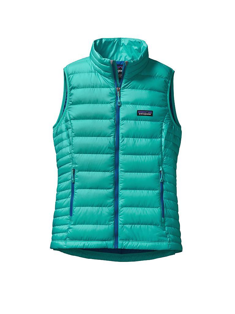 patagonia damen daunenweste down sweater blau xs. Black Bedroom Furniture Sets. Home Design Ideas